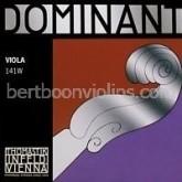 Dominant viola string  D silver-std. length