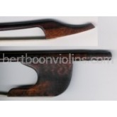 Baroque bow, double bass, German, snakewood