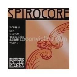 Spirocore vioolsnaar D chroom