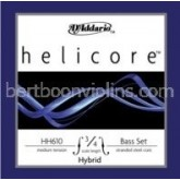 Helicore Hybrid double bass string 3/4 D