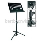 Music stand (orchestral) black