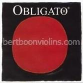 Obligato 4/4 violin string E gold plated