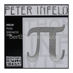 Peter Infeld (Pi) vioolsnaar E vertind