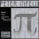 Peter Infeld (Pi) vioolsnaar E chroomstaal/platinacoating