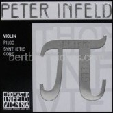 Peter Infeld (Pi) SET violin strings (E tin plated) Save on Set