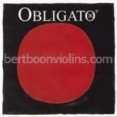 Obligato 4/4  viool snaar E staal