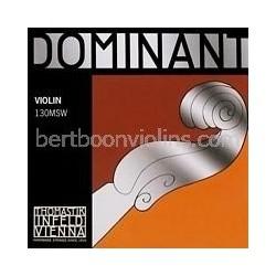Dominant 4/4 vioolsnaar E staal