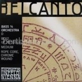 Belcanto double bass string orchestral A