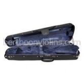 shaped violin case, wood