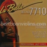 LaBell Prof Jazz series double bass strings SET