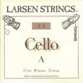 Larsen cello string fractional sizes G