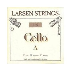 Larsen cello snaar kleine maten SET