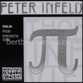 Peter Infeld (Pi) SET vioolsnaren (E platina coating) Setkorting