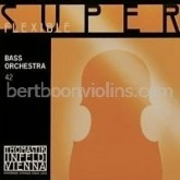 Superflexible double bass string, C extended