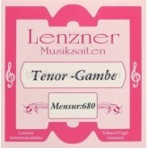 Lenzner Bas-Tenorgamba (mns. 68cm) snaar D1