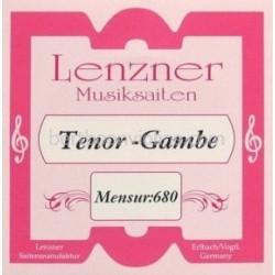 Lenzner Bas-Tenorgamba (mns. 68cm) snaar E3