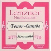 Lenzner Bas-Tenorgamba (mns. 68cm) snaar G5