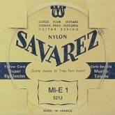Savarez Guitar string E1 Carte Jaune, extra hard tension