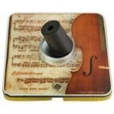 Cellosticker, magnetische punt