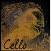EVAH Pirazzi GOLD cello string D