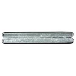 strijkstokkoffer voor contrabas-stok (ritssluiting)