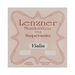 Lenzner Supersolo vioolsnaar G darm/zilver