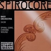 SET double bas strings Spirocore Fifths-tuning
