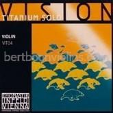 Thomastik Vision Titanium solo vioolsnaar E (titanium design)