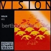 Thomastik Vision vioolsnaar D zilver