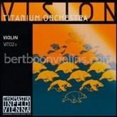 Vision Titanium Orchestra vioolsnaar E (titanium design)