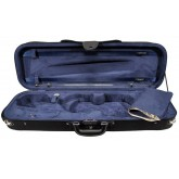 Violin case oblong, foam moulded