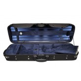 Violin case oblong, wood.