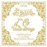 La Bella d Or violin string E