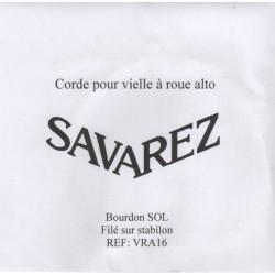 Savarez speciaalsnaar voor draailier VRA16 Bourdon SOL