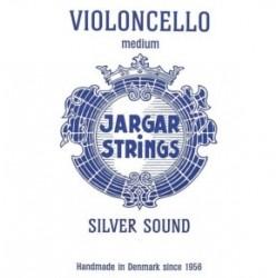 Jargar cellosnaar C zilver