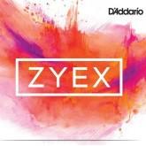 Zyex 4/4 vioolsnaar D ZILVER