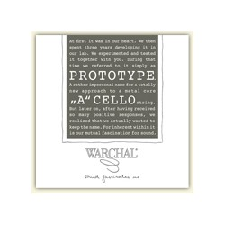 Warchal Prototype cello...