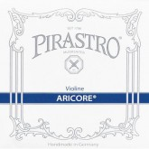 Aricore vioolsnaar D chroom