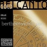 Belcanto GOLD SET cellosnaren (setkorting)