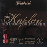 Kaplan Solutions violin string E (non Whistling)