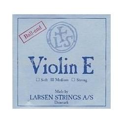 Larsen vioolsnaar D zilver