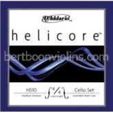 Helicore  cello string fractional sizes A
