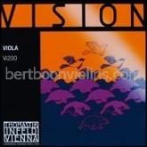 Vision viola string A chrome