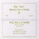 Hill violin string E