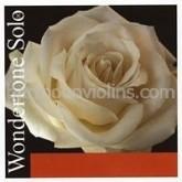 Wondertone Solo vioolsnaar E.26 zilverstaal