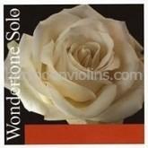 Wondertone Solo violin string E special steel