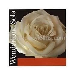 Wondertone Solo vioolsnaar A staal-alu
