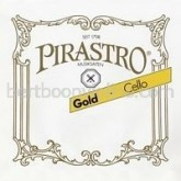 Gold cello string A