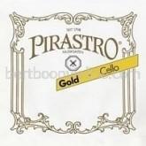 Gold cello string C