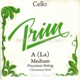 Prim cello string fractional sizes D